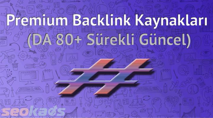 Backlink - Geri Bağlantı ve Link